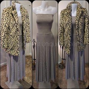 INC Versatile Stripe Skirt to Dress